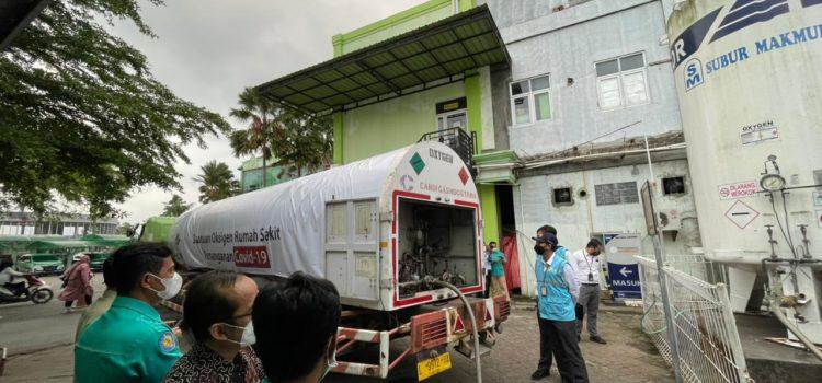PLN Kembali Salurkan Bantuan 12 Ton Oksigen ke Rumah Sakit di Jateng