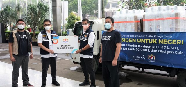 Indika Energy Bantu Rumah Sakit Penuhi Kebutuhan Oksigen