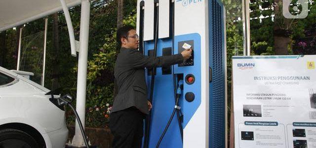 IPCC Bangun 3 Plugin Charging Stastion Untuk Kendaraan Listrik