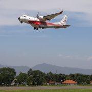 Perdana, Pesawat PTDI Sukses Terbang Gunakan Avtur Sawit Hari ini